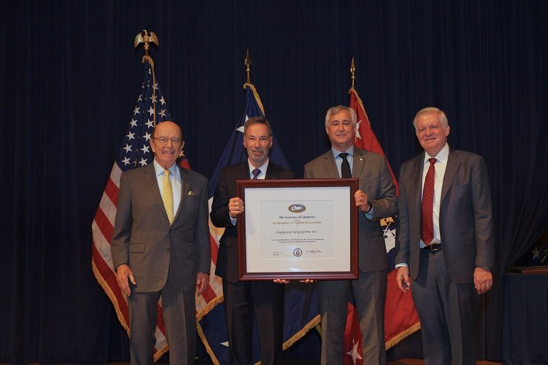 GSSI Receives Presidential Award for Exports