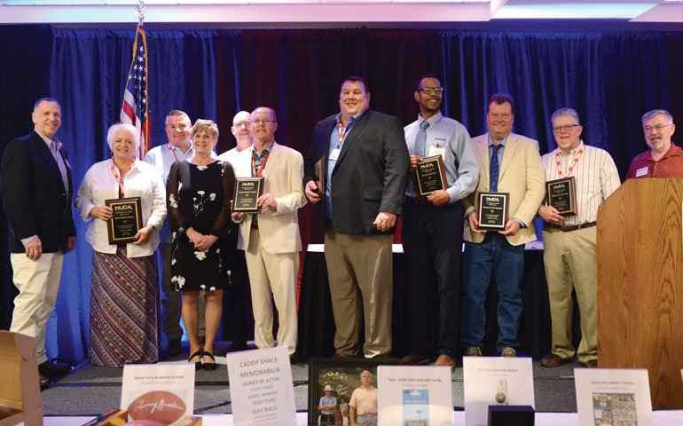 The 2018 William H. Feather Safety Award Winners.