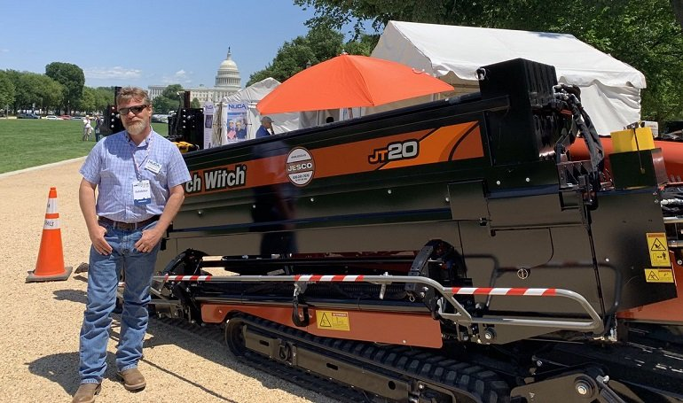 NUCA Showcases Trenchless Technology On National Mall