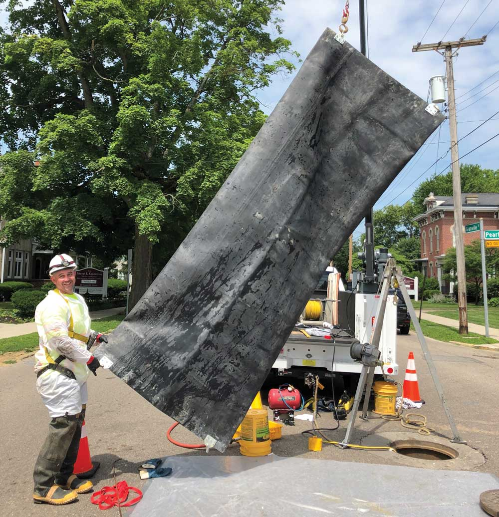 Ace in the Hole: CIPP point repair protects city's sewer maintenance schedule