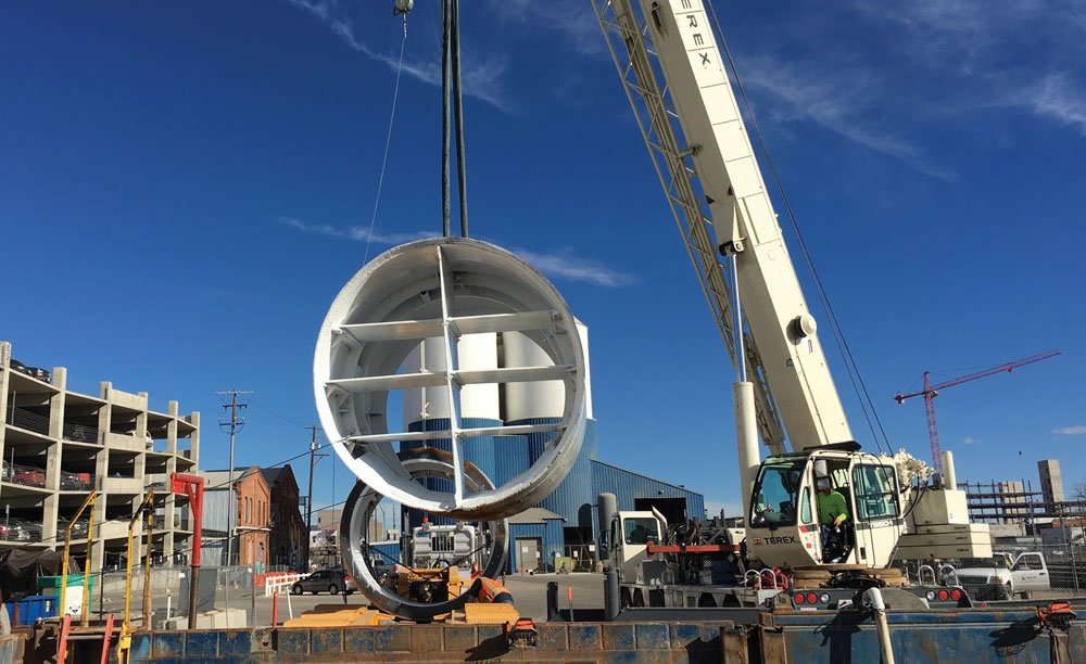 BTrenchless used hand tunneling with a custom-built excavator shield