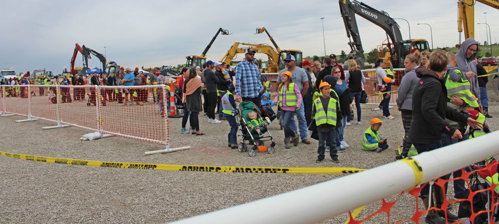 The Greater Kansan City chapter hosted is first Dozer Day