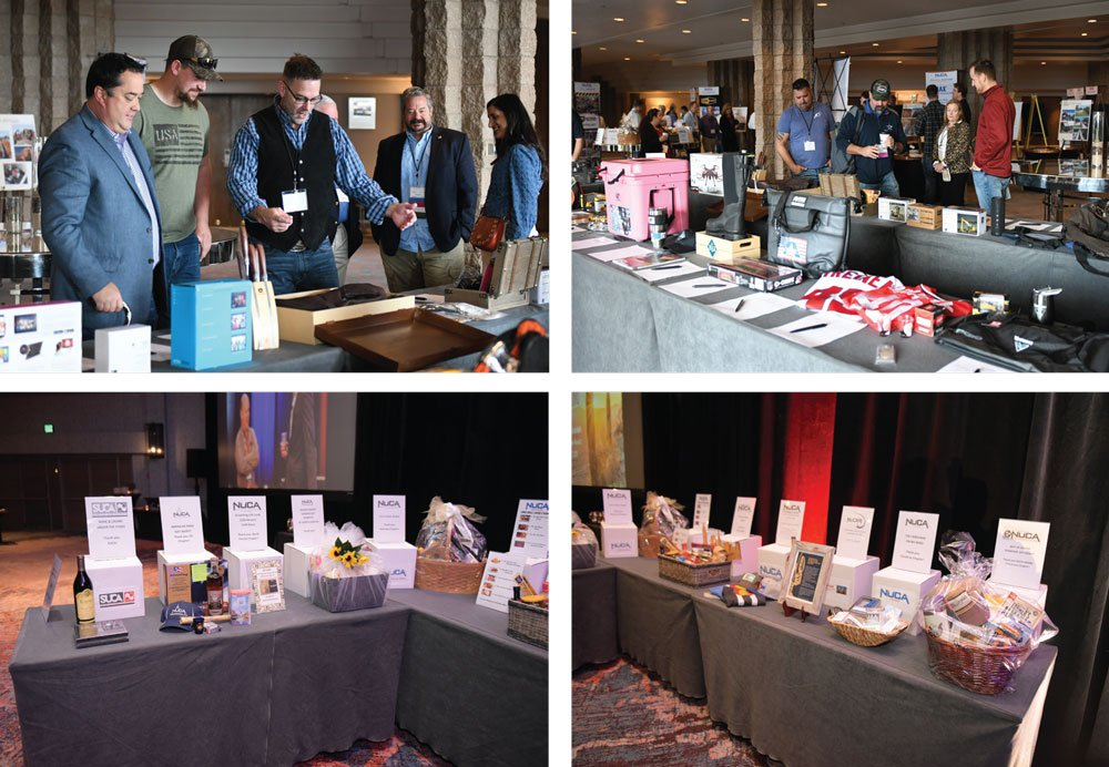 NUCA Convention 2020 chapter baskets and silent auction