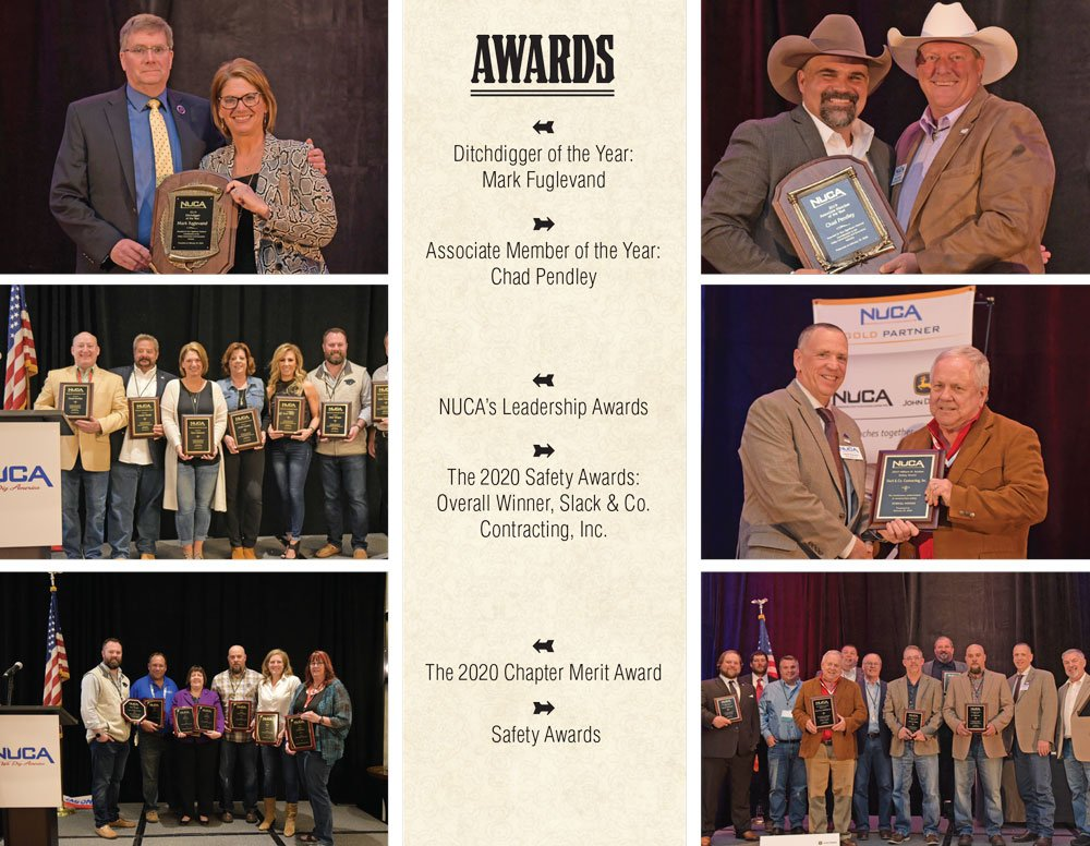 NUCA Convention 2020 awards