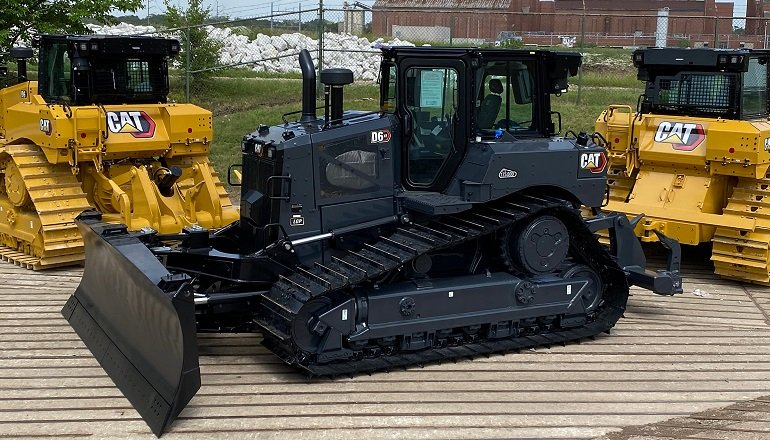 Caterpillar Celebrates Production of 175,000 Medium High Drive Dozers