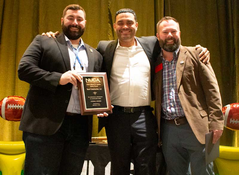 The 2020 Safety Awards – Overall Winner, Team Construction.